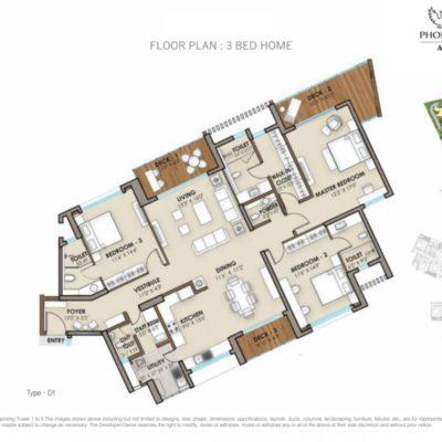 phoenix-one-bangalore-west-3-bedroom-floor-plan